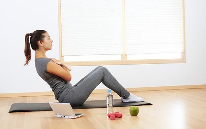 ورزش در خانه برای تناسب اندام