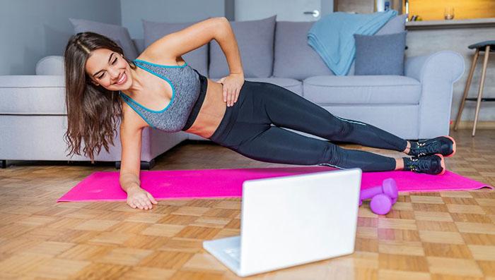 ورزش در خانه آنلاین