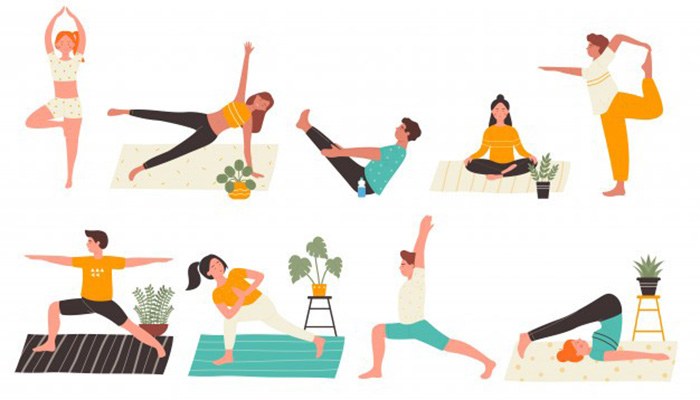 حرکات ورزش در منزل