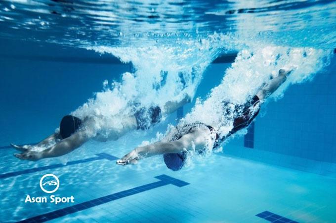 تمرین شنا